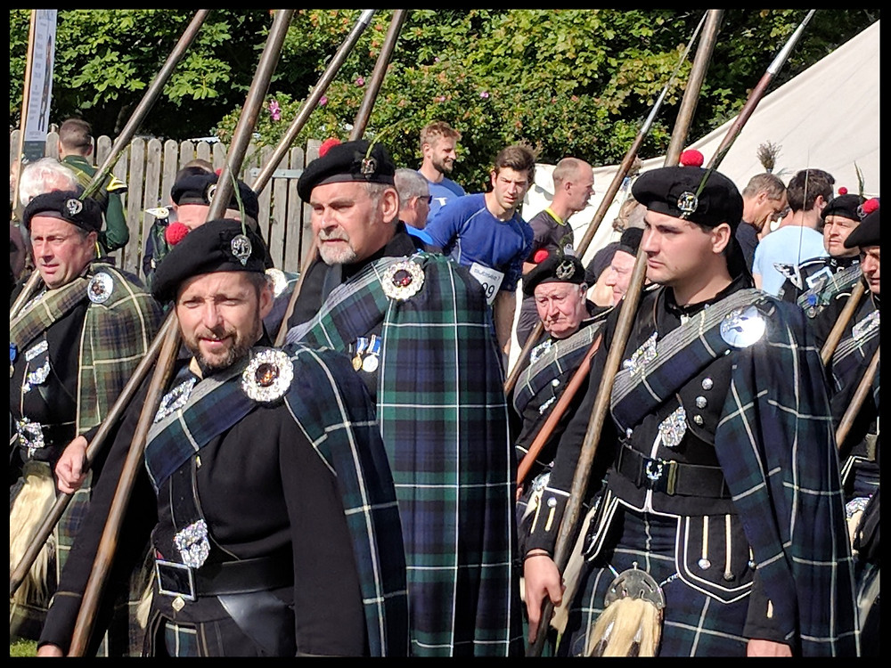 The Spearmen of The Lonach Gathering