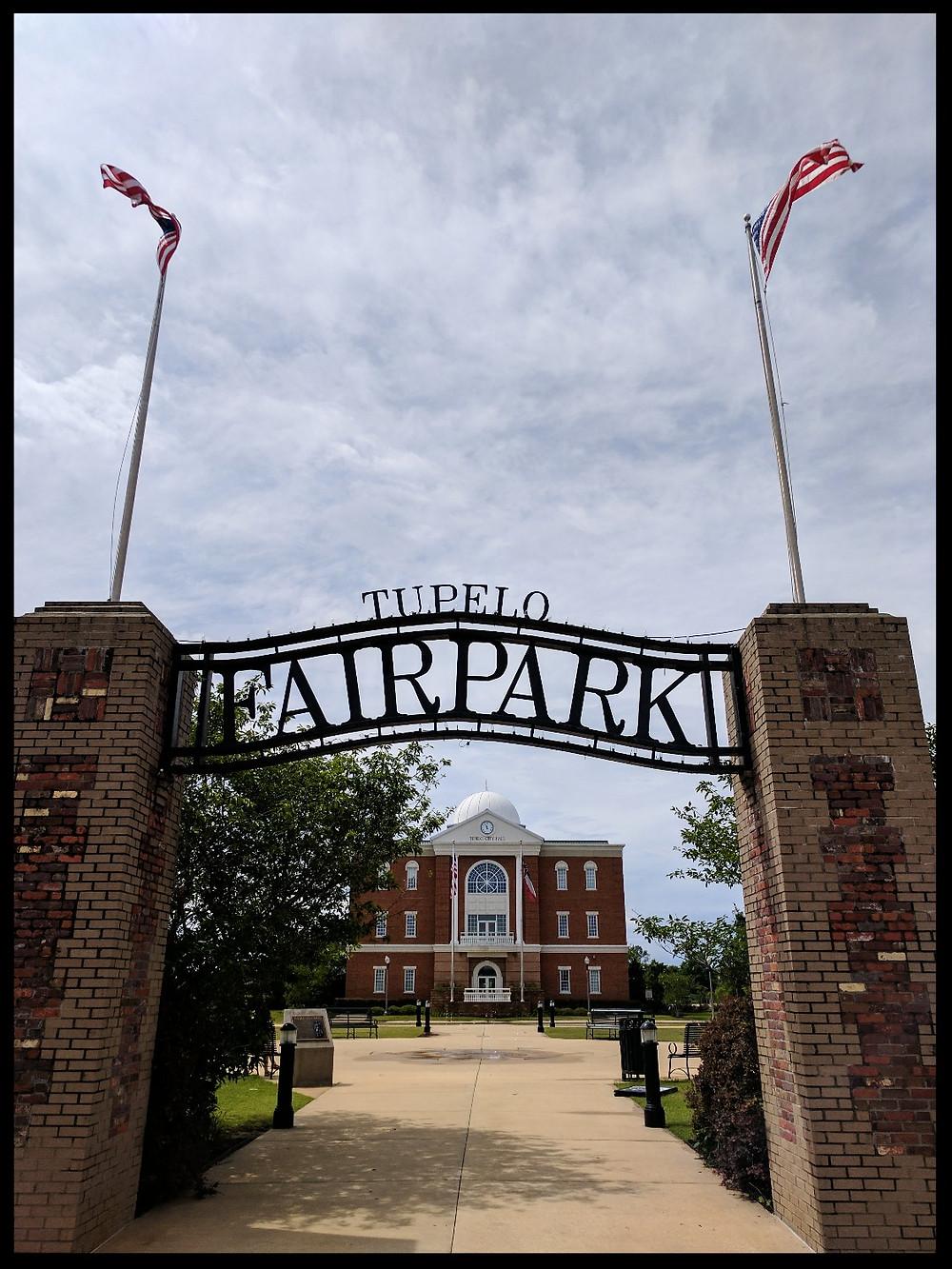 Tupelo Fairgrounds, Mississippi.