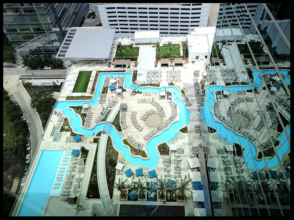 The Pool at the Marriott Hotel, Houston