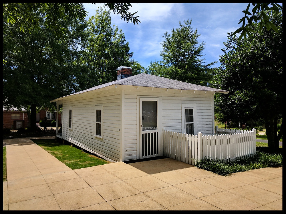 The Elvis Presley Birthplace Museum, Tupelo, Mississippi.