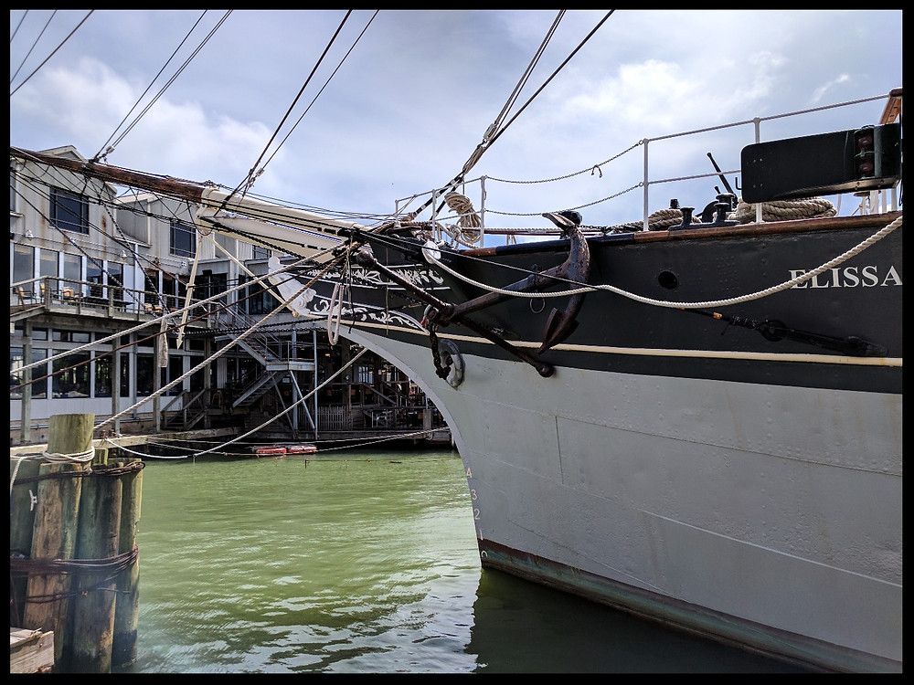 The Texas Seaport Museum, Galveston, Texas.
