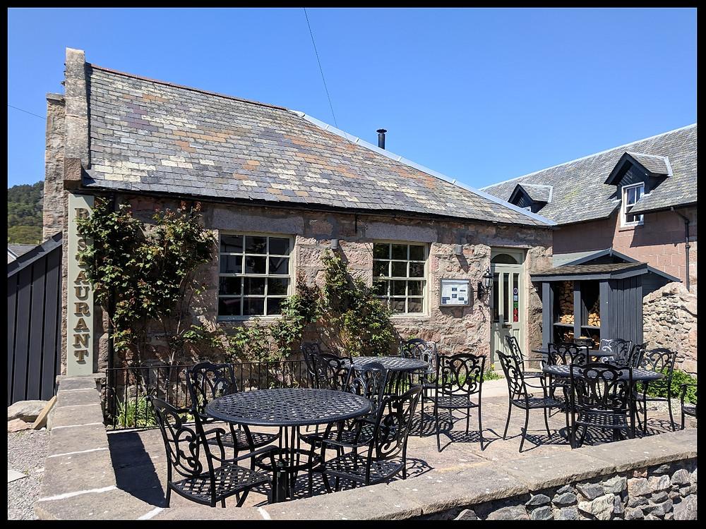 The Clachan Grill, Ballater, Royal Deeside, Scotland.