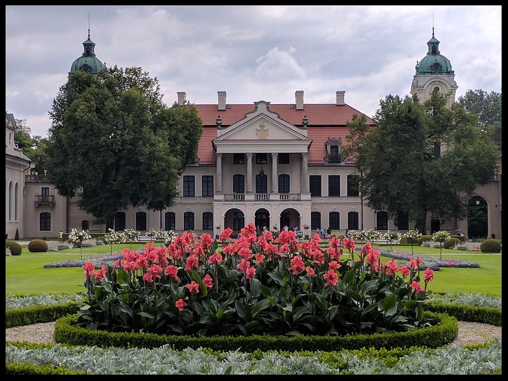 Zamoyski Palace, near Lublin, Poland