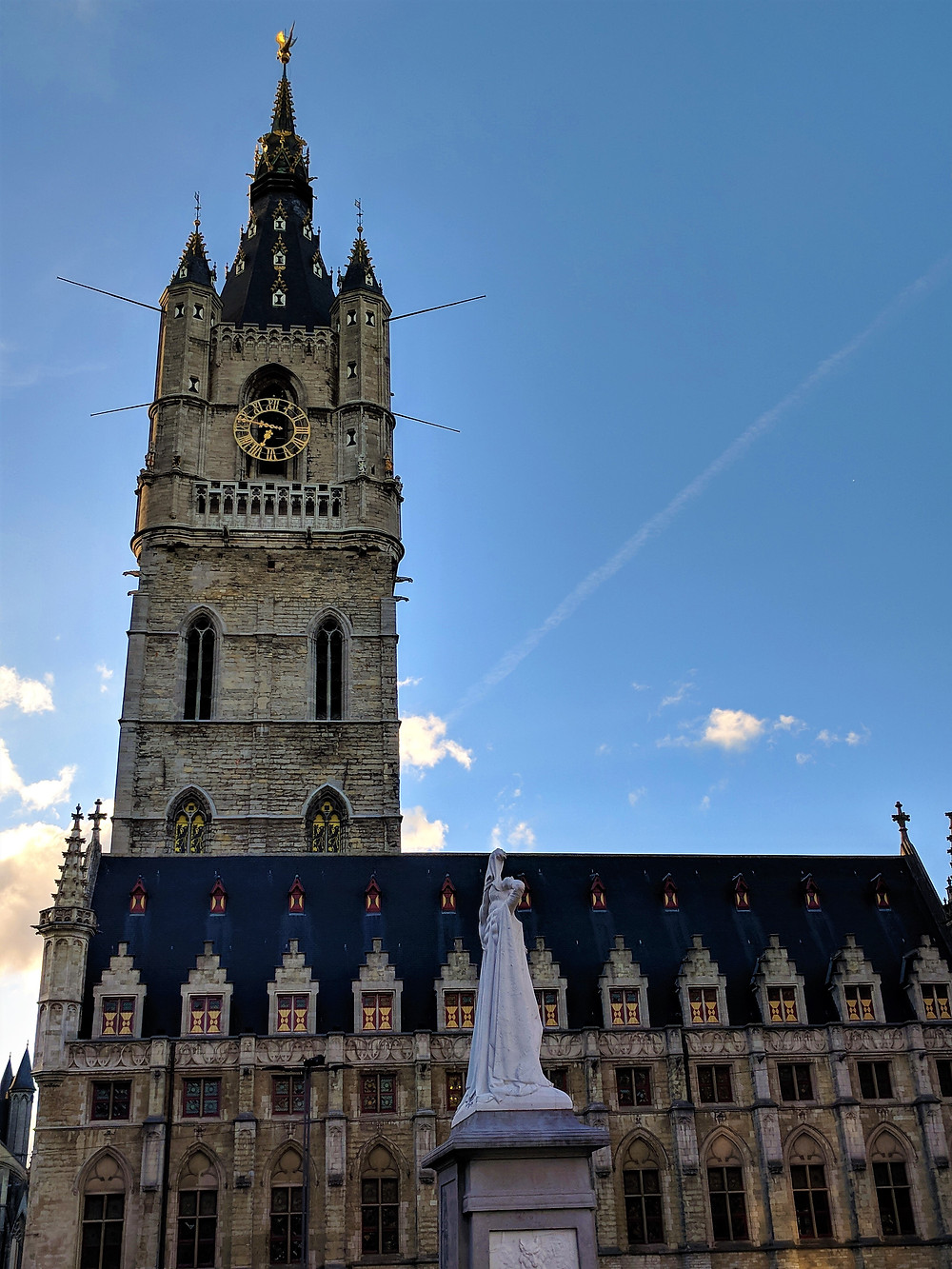 Belfry and Cloth Hall, Ghent.
