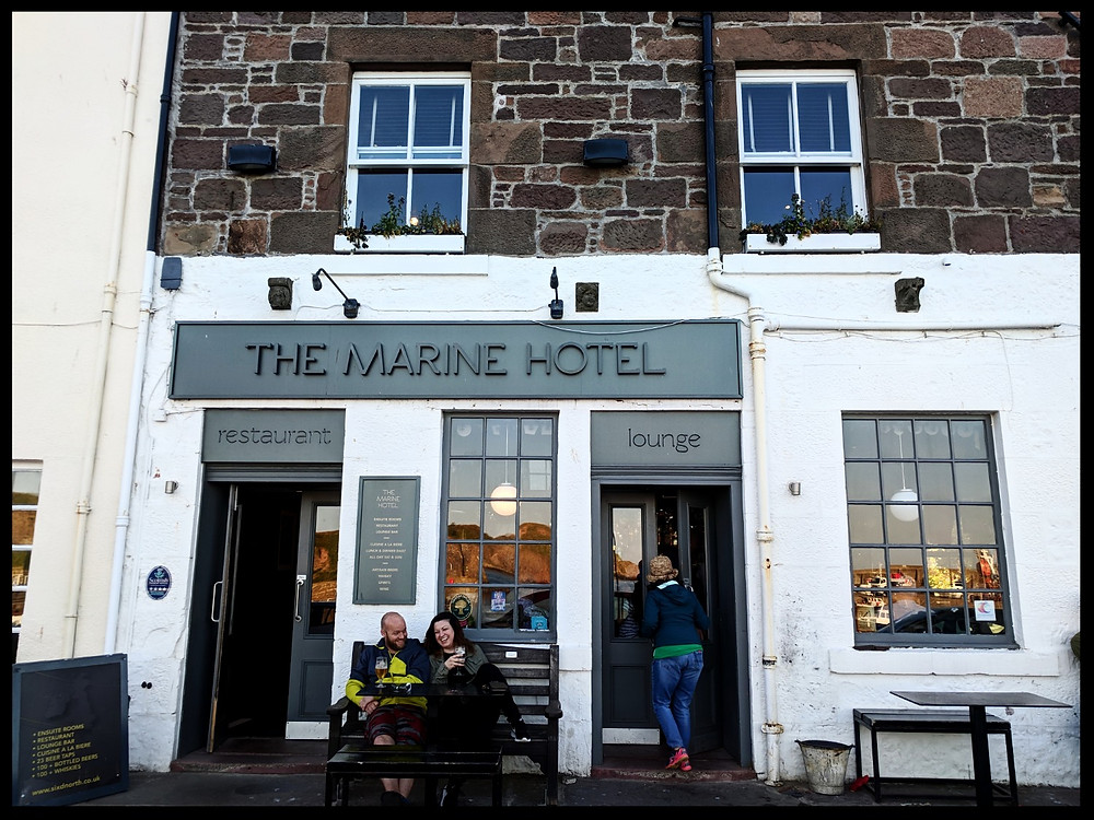 The Marine Hotel, Stonehaven Harbour.