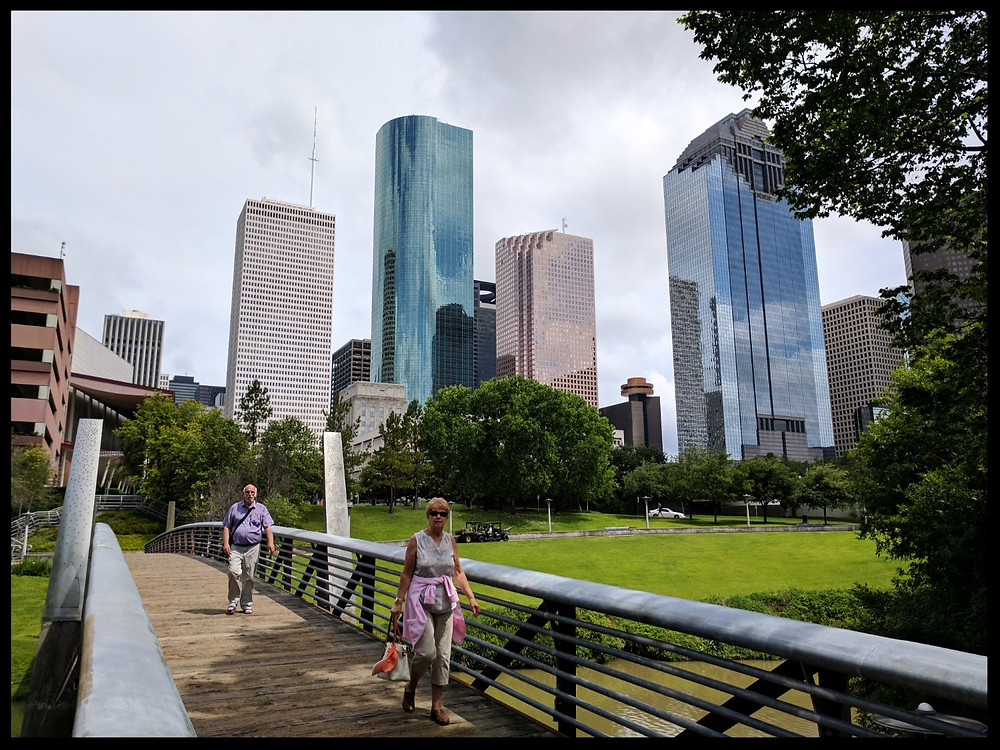 The Buffalo Bayou Park, Houston