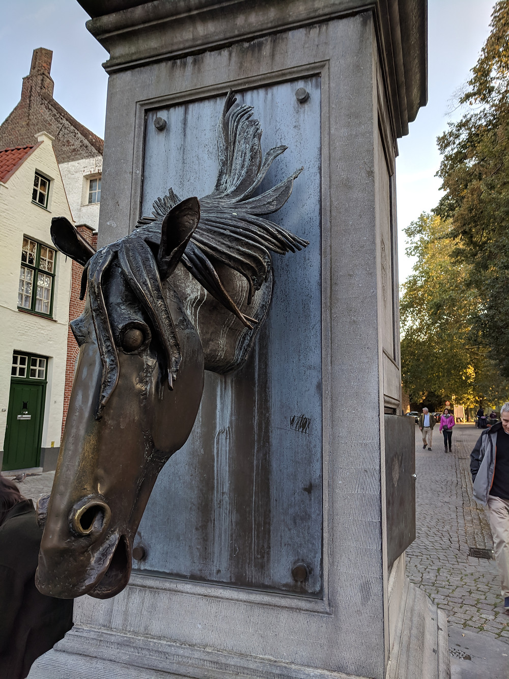 Horse Head Drinking Fountain, Bruges