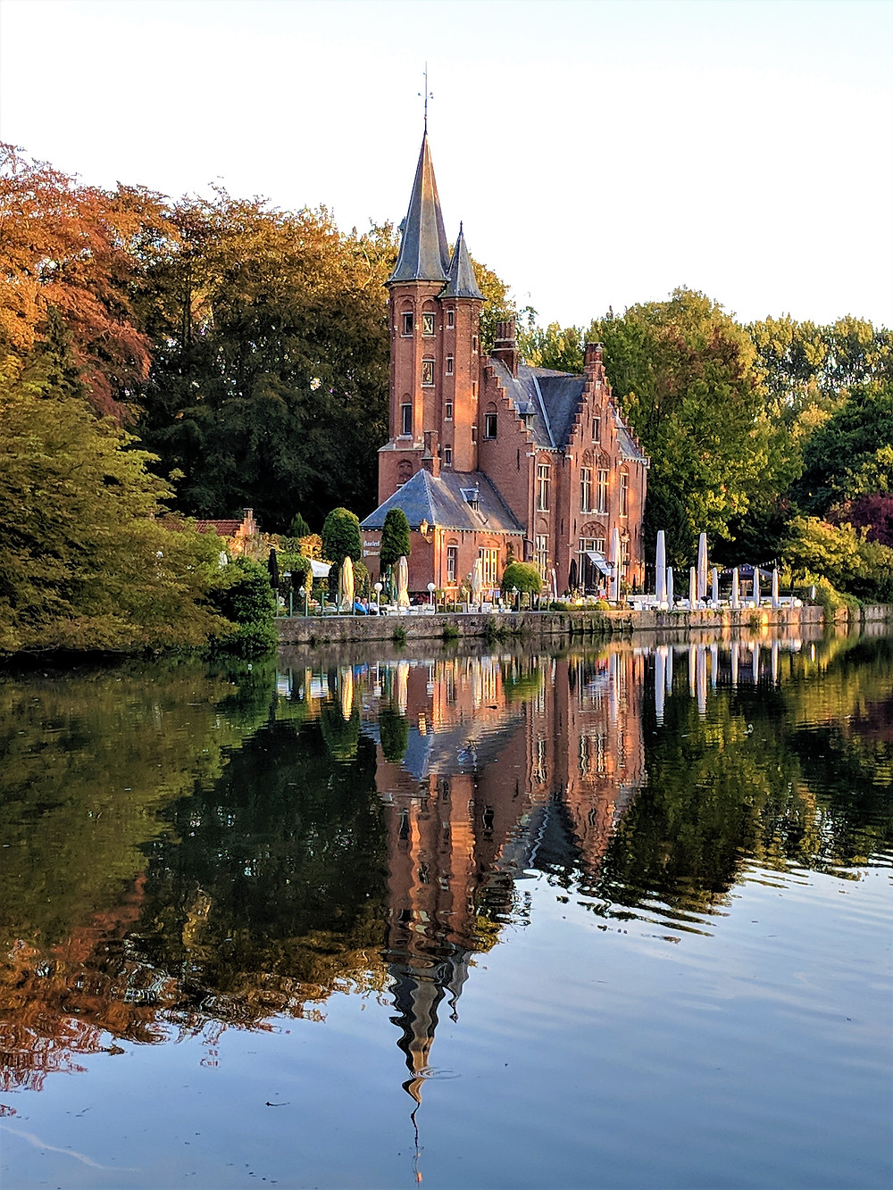 Minnewater Lake, Bruges
