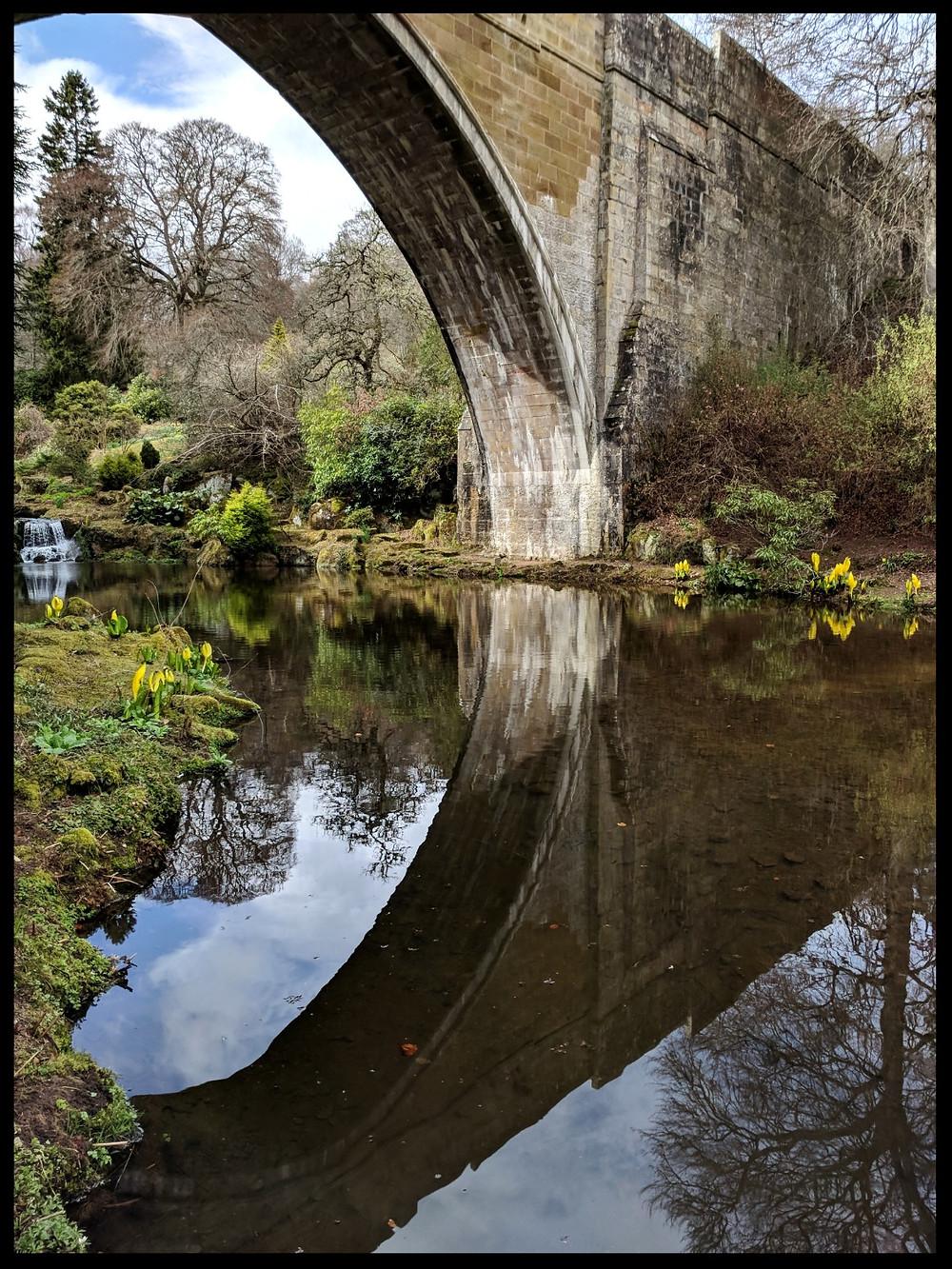 Kildrummy Castle Gardens, Aberdeenshire, Scotland.