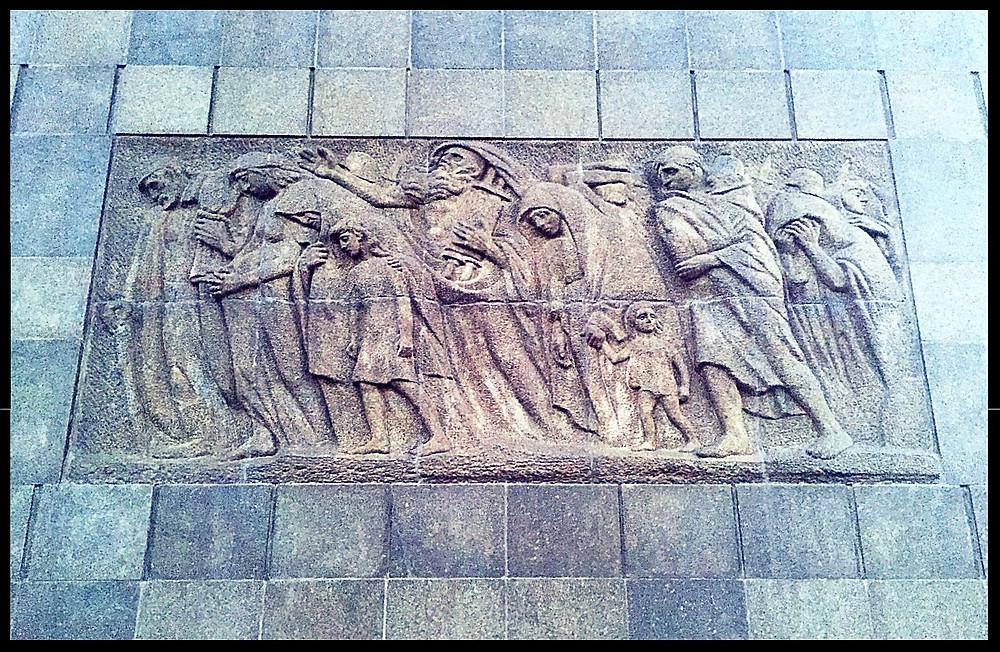 Jewish Ghetto Memorial - Eastern Side