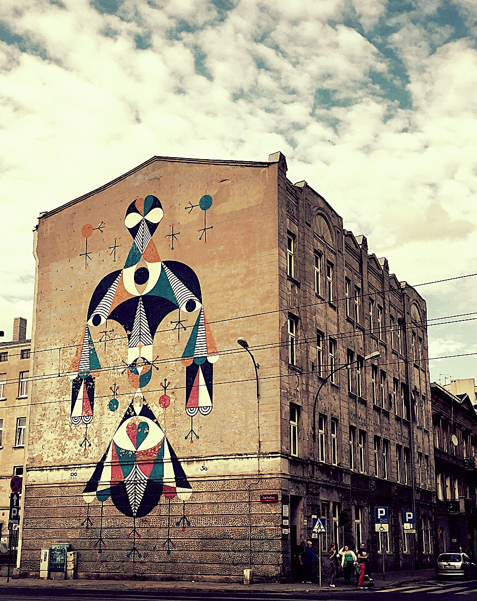 Large Polish Street Art