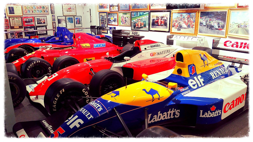 The Mansell Collection Race Cars