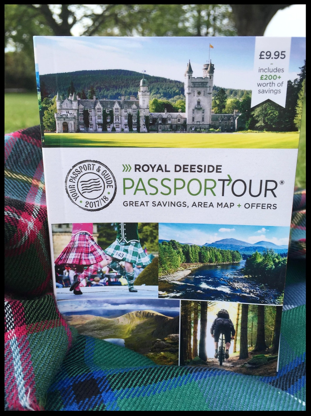 The Royal Deeside PassporTour book