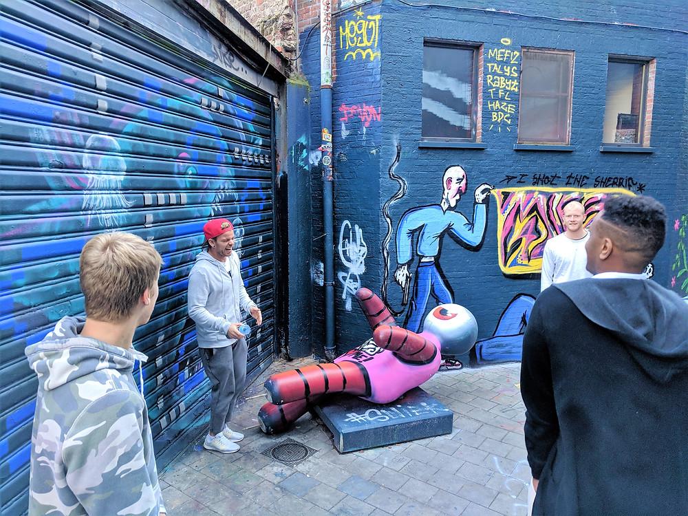 Graffiti Street, Ghent.