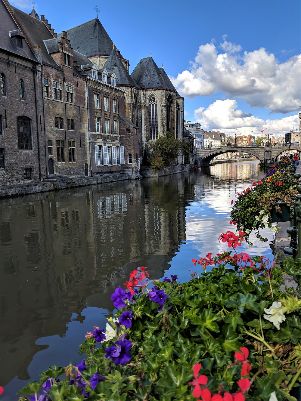 St. Michael's Bridge, Ghent.
