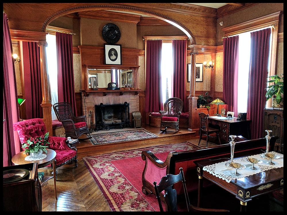 The Moody Mansion, Galveston, Texas.