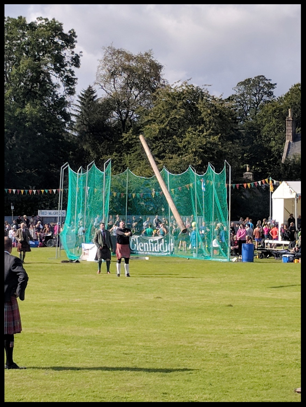 Tossing the Caber at The Lonach Gathering