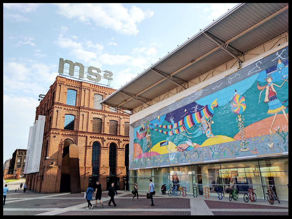 The Museum of Art MS2, Łódź, Poland.