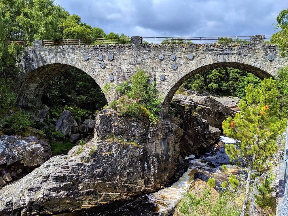 Black Water Falls, Garve, Scotland