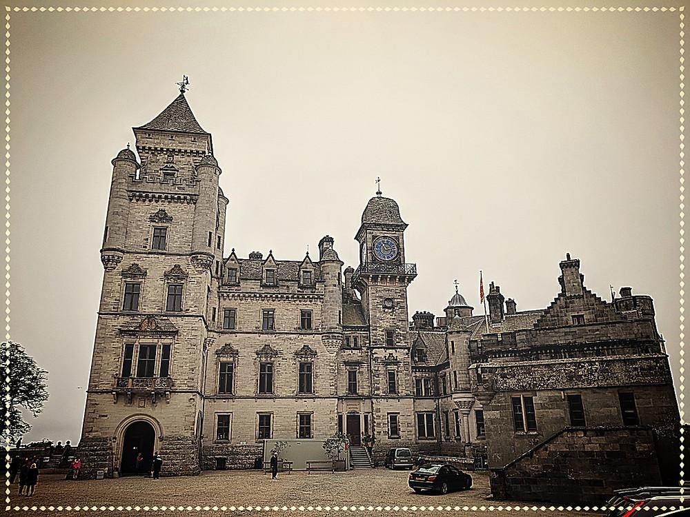 Dunrobin Castle Entrance