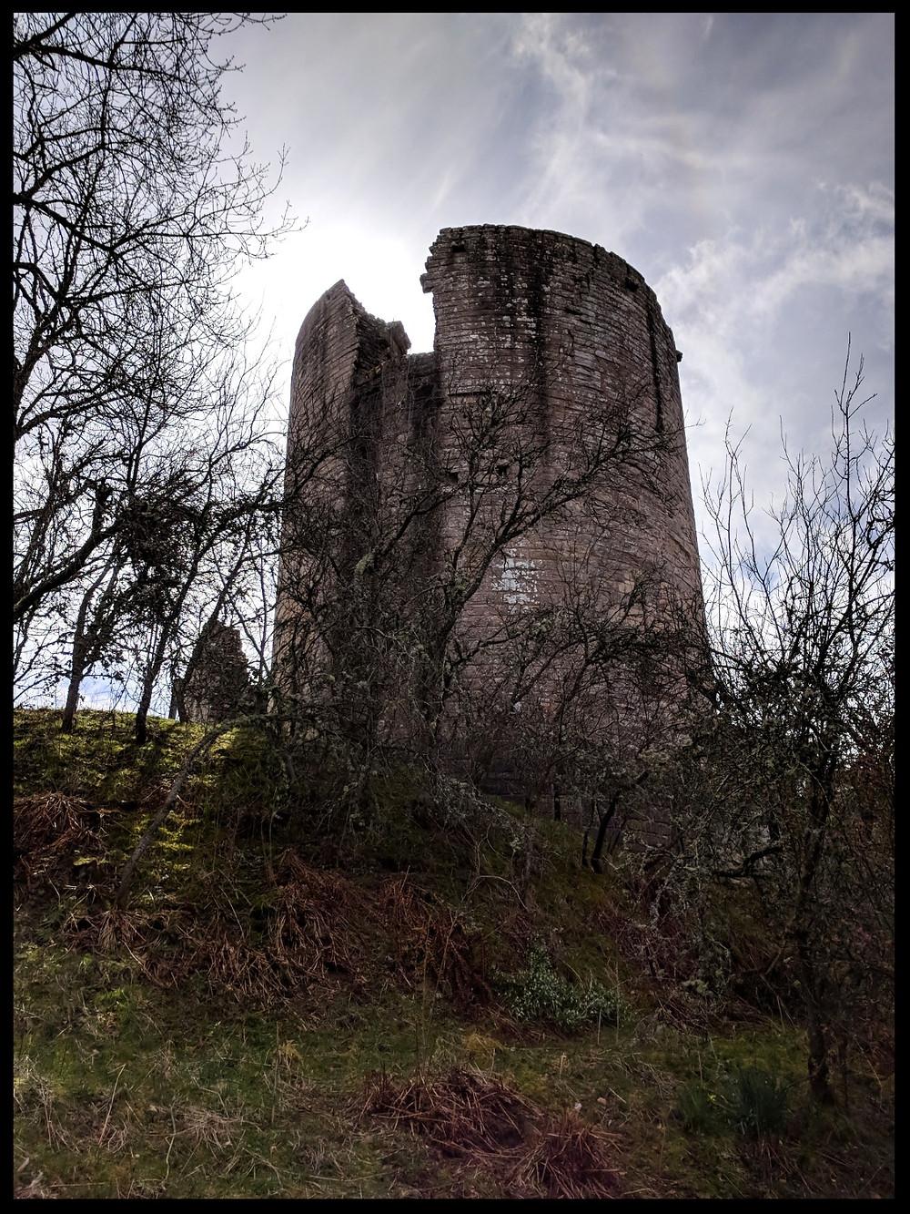 Kildrummy Castle, Aberdeenshire, Scotland.