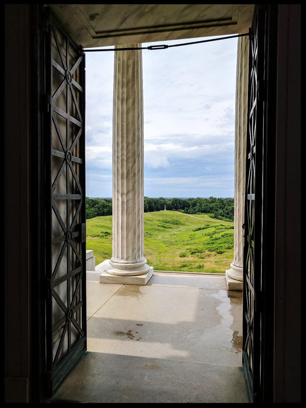 The Illinois State Memorial, The Vicksburg National Military Park, Vicksburg, Mississippi.
