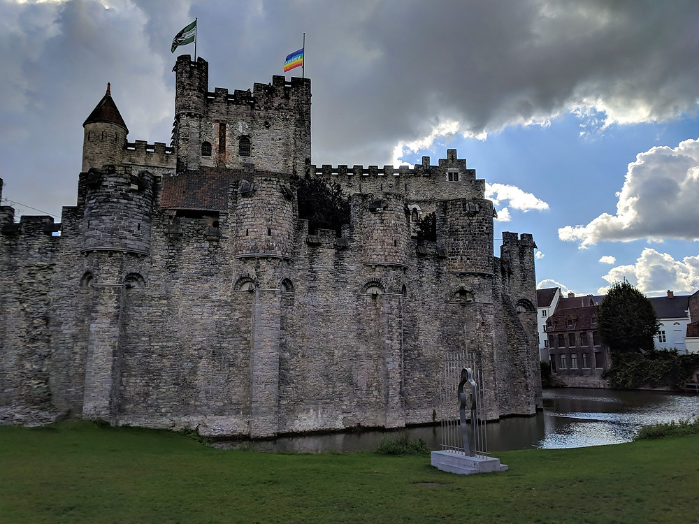Gravensteen Castle, Ghent.