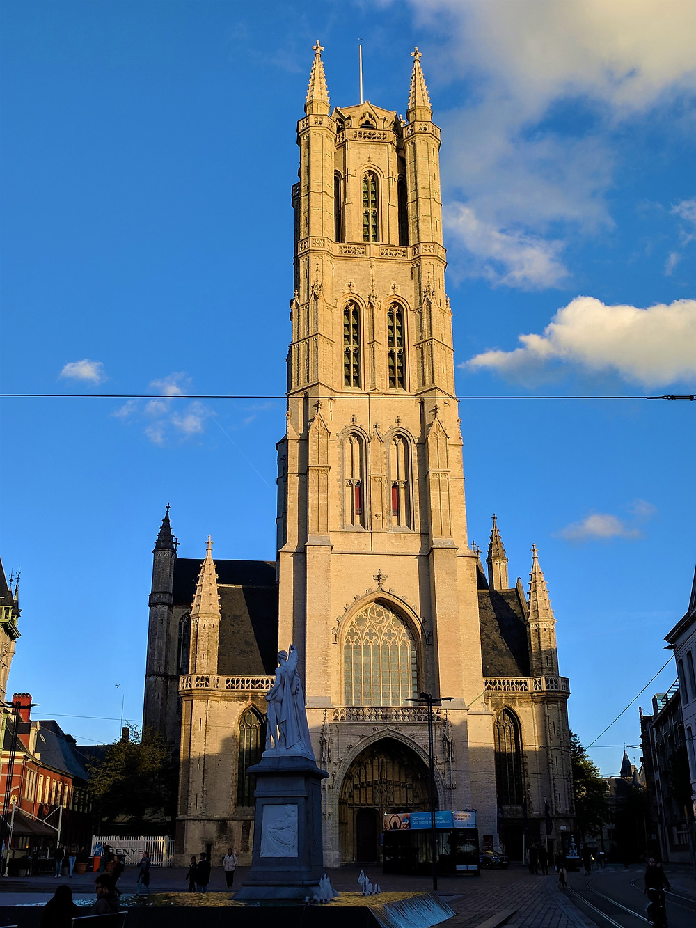 St. Bavo's Cathedral, Ghent.