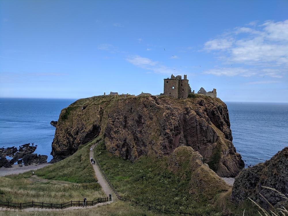 Best Castles to visit in Aberdeenshire, Dunnottar Castle