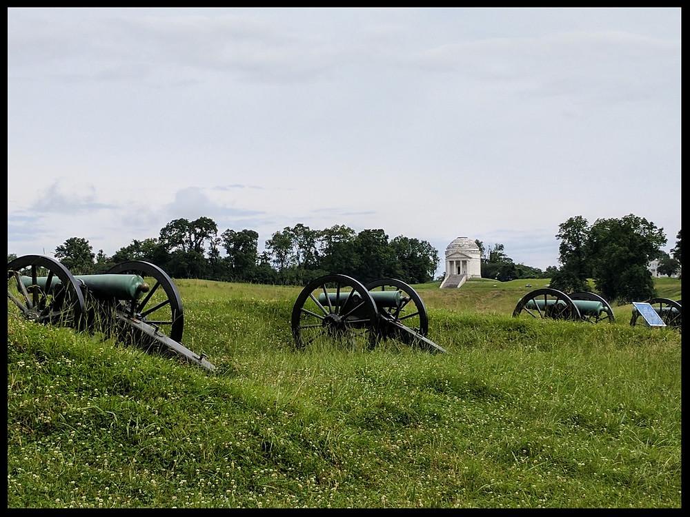 The Vicksburg National Military Park, Vicksburg, Mississippi.