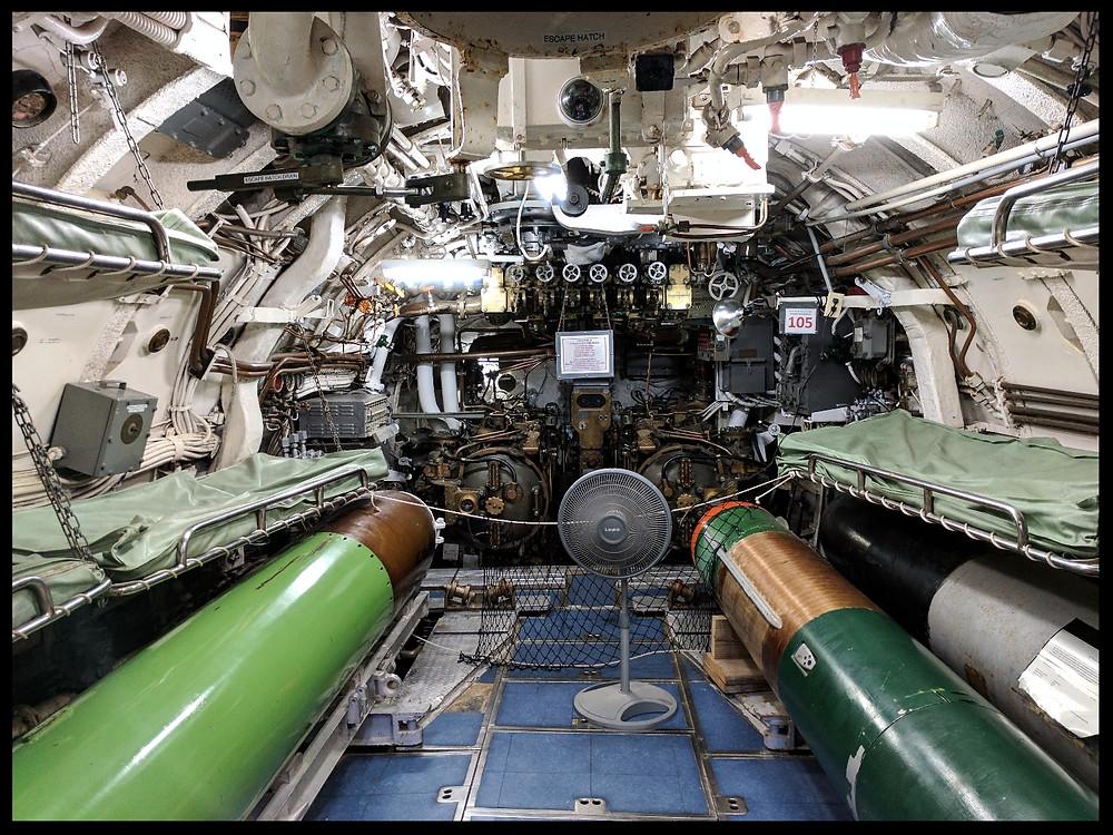 USS Cavalla at The American Undersea Warfare Center, Galveston, Texas.