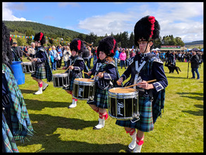A day out at the Lonach Gathering