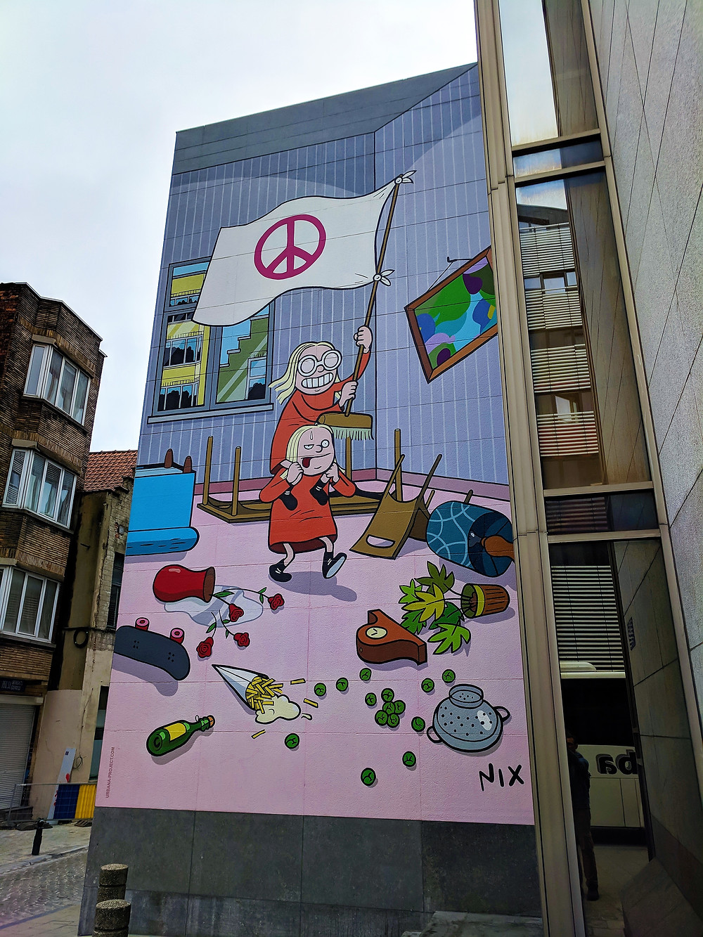 The Comic Strip Walk, Brussels