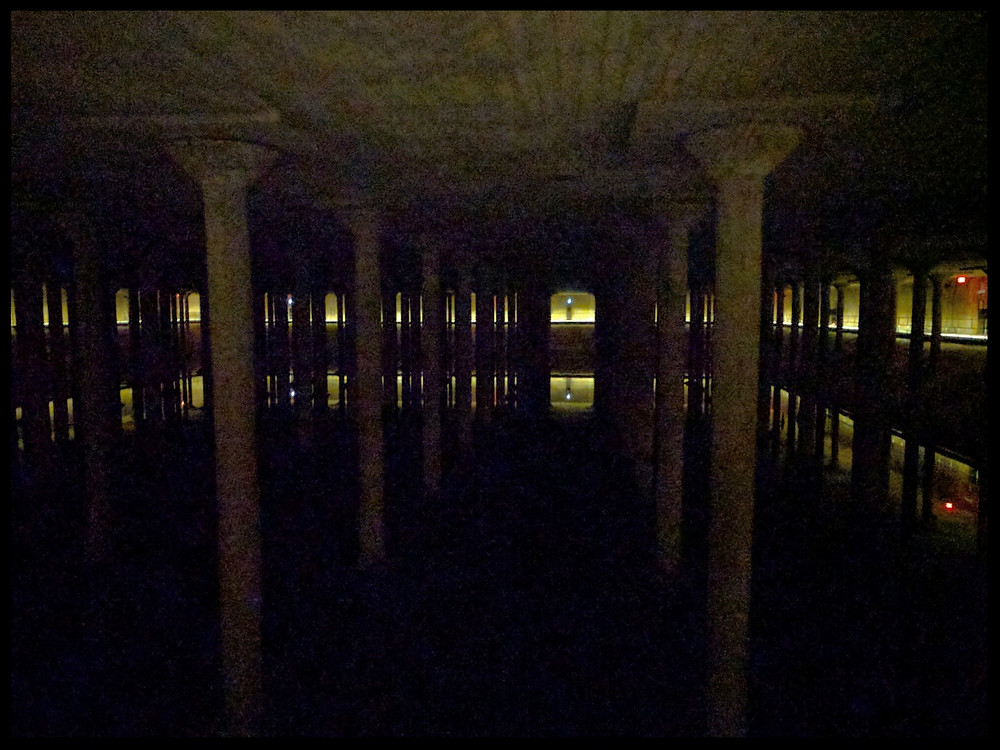 The Buffalo Bayou Cistern, Houston