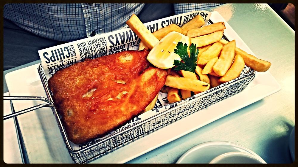 Fish & Chips at Seafish Café