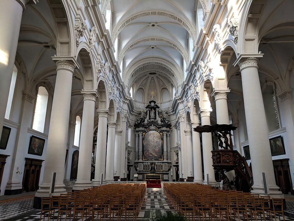 St. Walburga's Church, Bruges
