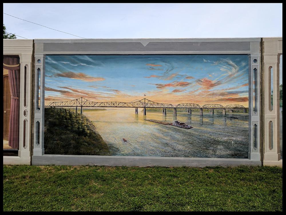 The Vicksburg Riverfront Murals, Vicksburg, Mississippi.