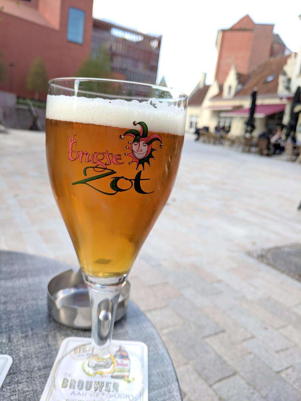 Den Apero restaurant, 'T Zand, Bruges