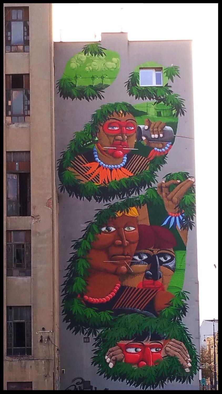 Street Art, Łódź, Poland.