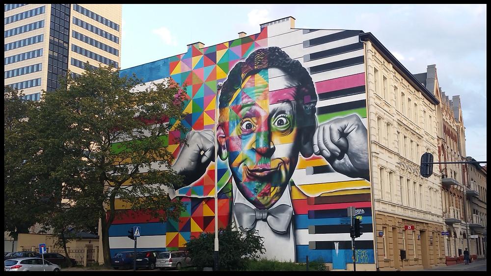 Polish Street Art - Polish Composer Arthur Rubinstein