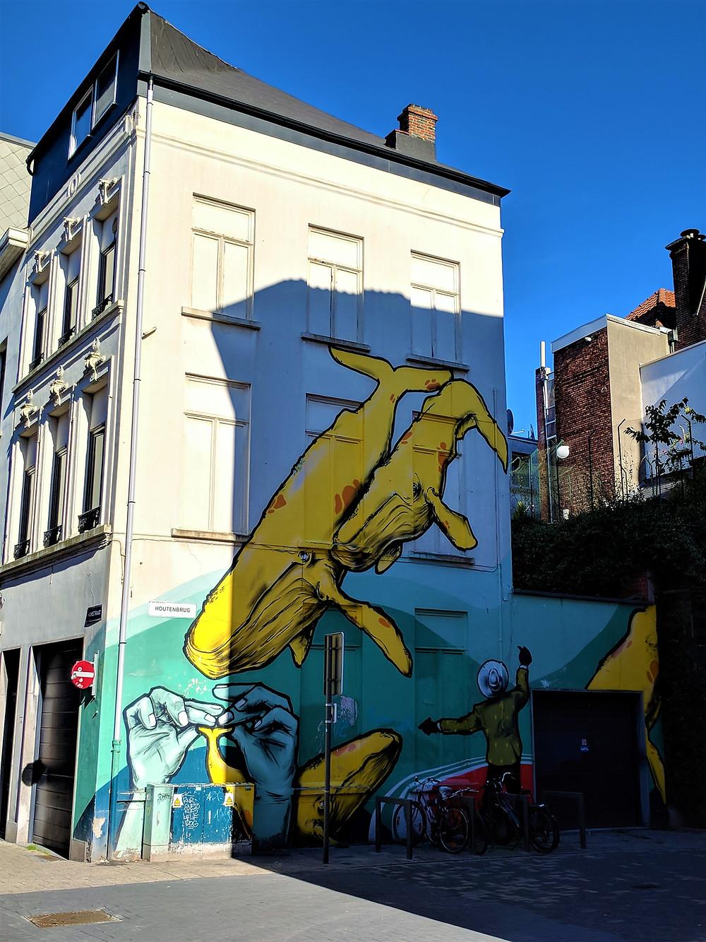 "Larsen Bervoets ""Whale or Giant?"", Antwerp"