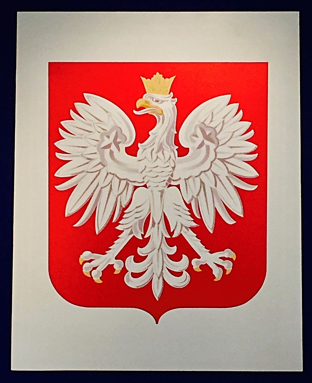 Polish National Emblem - Coat of Arms - White Eagle