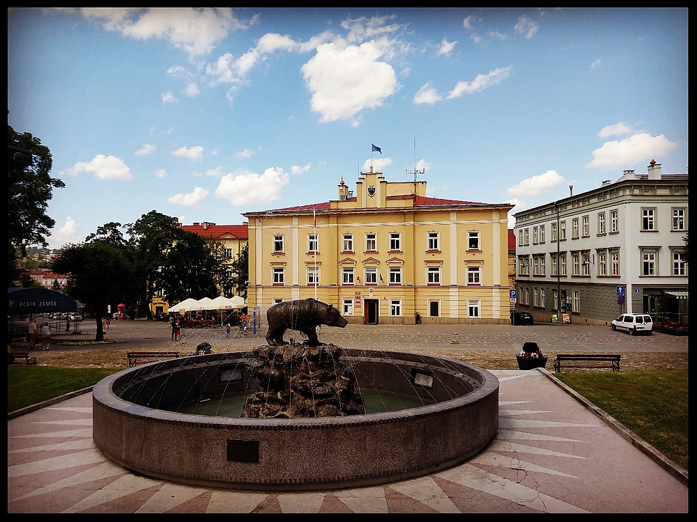 Old Town Square, Przemyśl, Poland