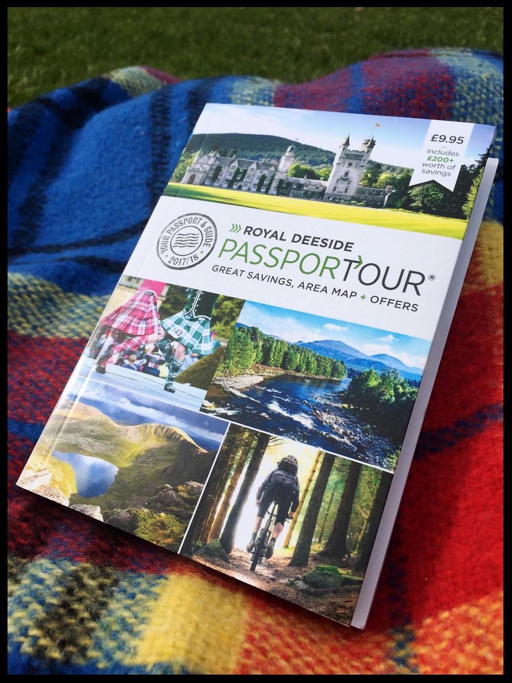 Royal Deeside PassporTour book