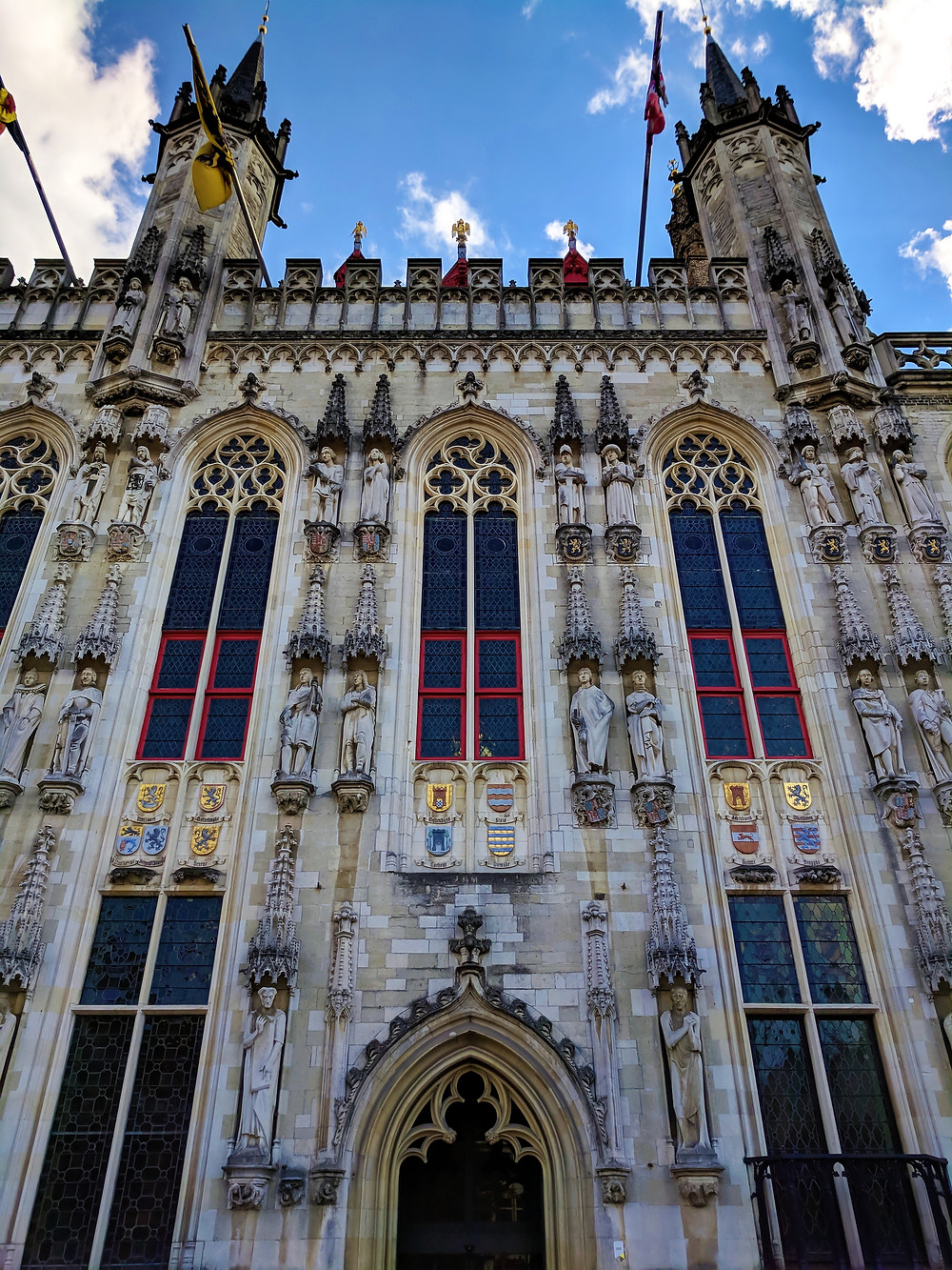 Stadhuis (City Hall), Burg Square, Bruges