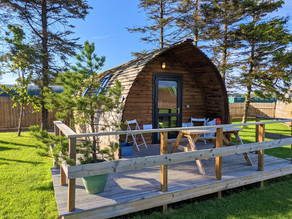 Discover Your Backyard – Glamping at The Loft, Moray