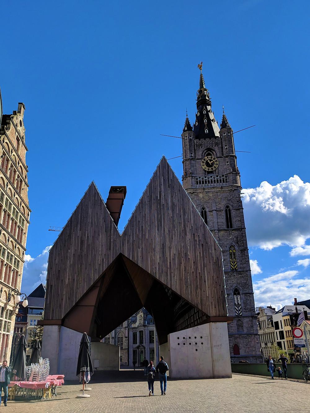 Stadshal, Ghent.