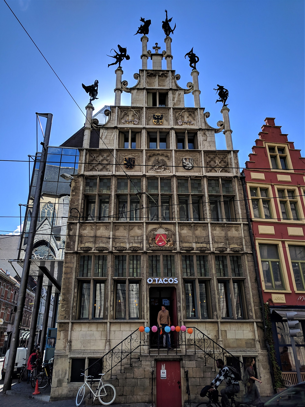 Mason's Guild Hall, Ghent.