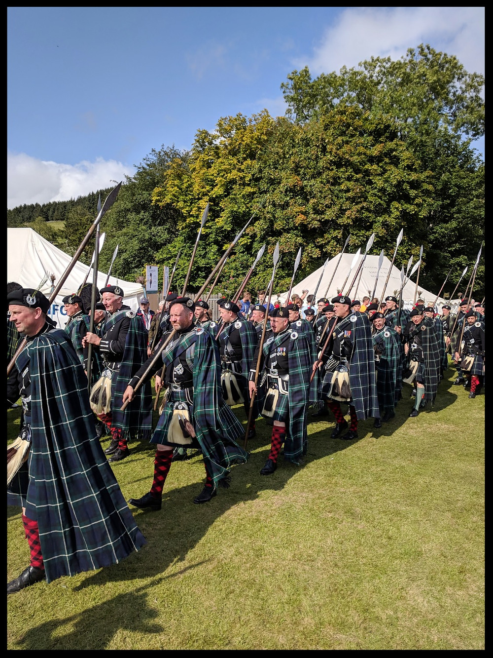 The Spearmen of The Lonach Gathering