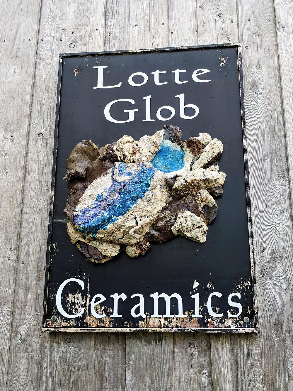 Lotte Glob Sculpture Croft, Loch Eriboll.